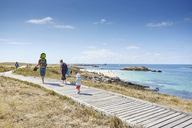 Tourisme Finistère Sud - Promenade aux îles Glénan