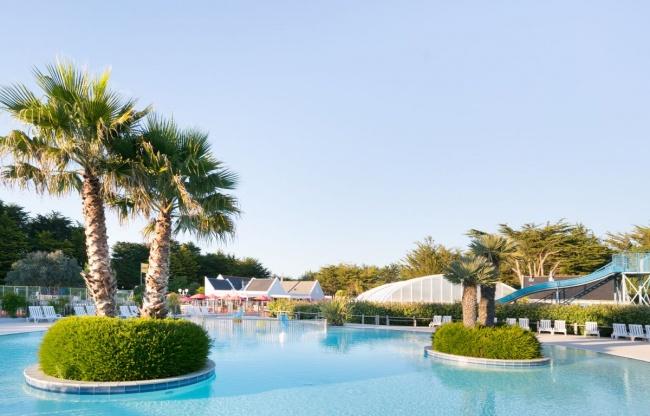 camping sud Finistère - animations aquatiques, piscine