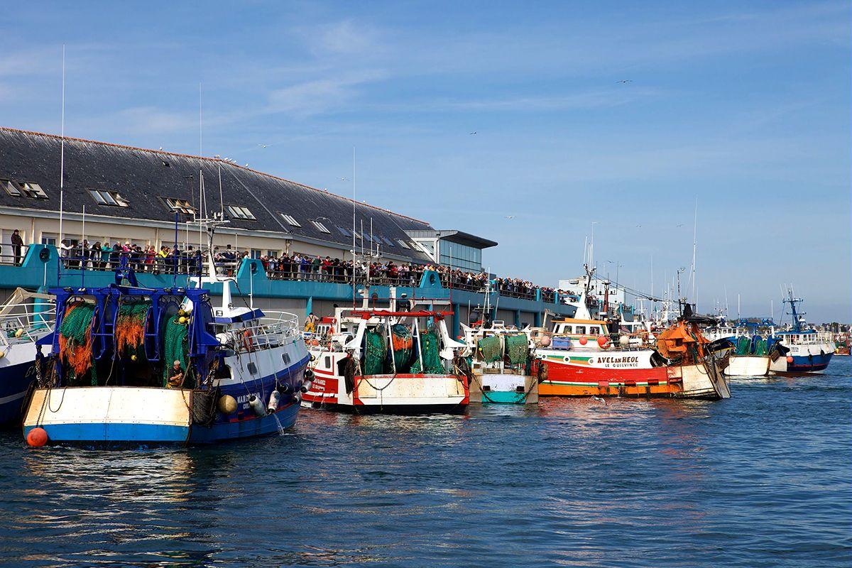 le port de pêche de Guilvinec en Bretagne