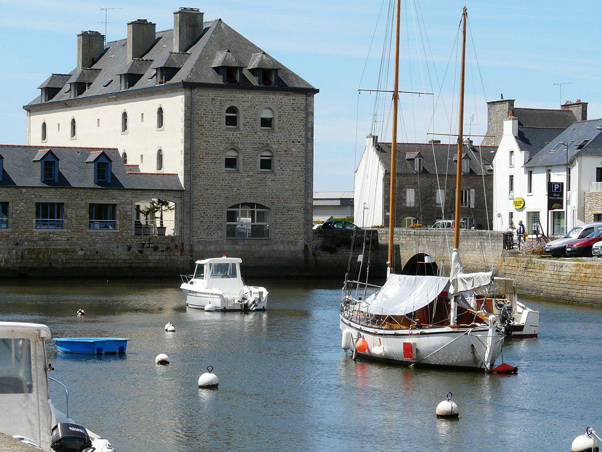 Camping en Bretagne - Port de Pont l'Abbé