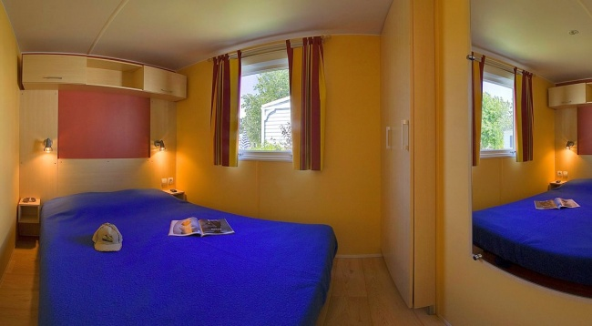 Lodge 4 personnes - 24 m² - chambre