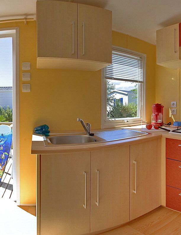 Lodge 4 personnes - 24 m² - cuisine