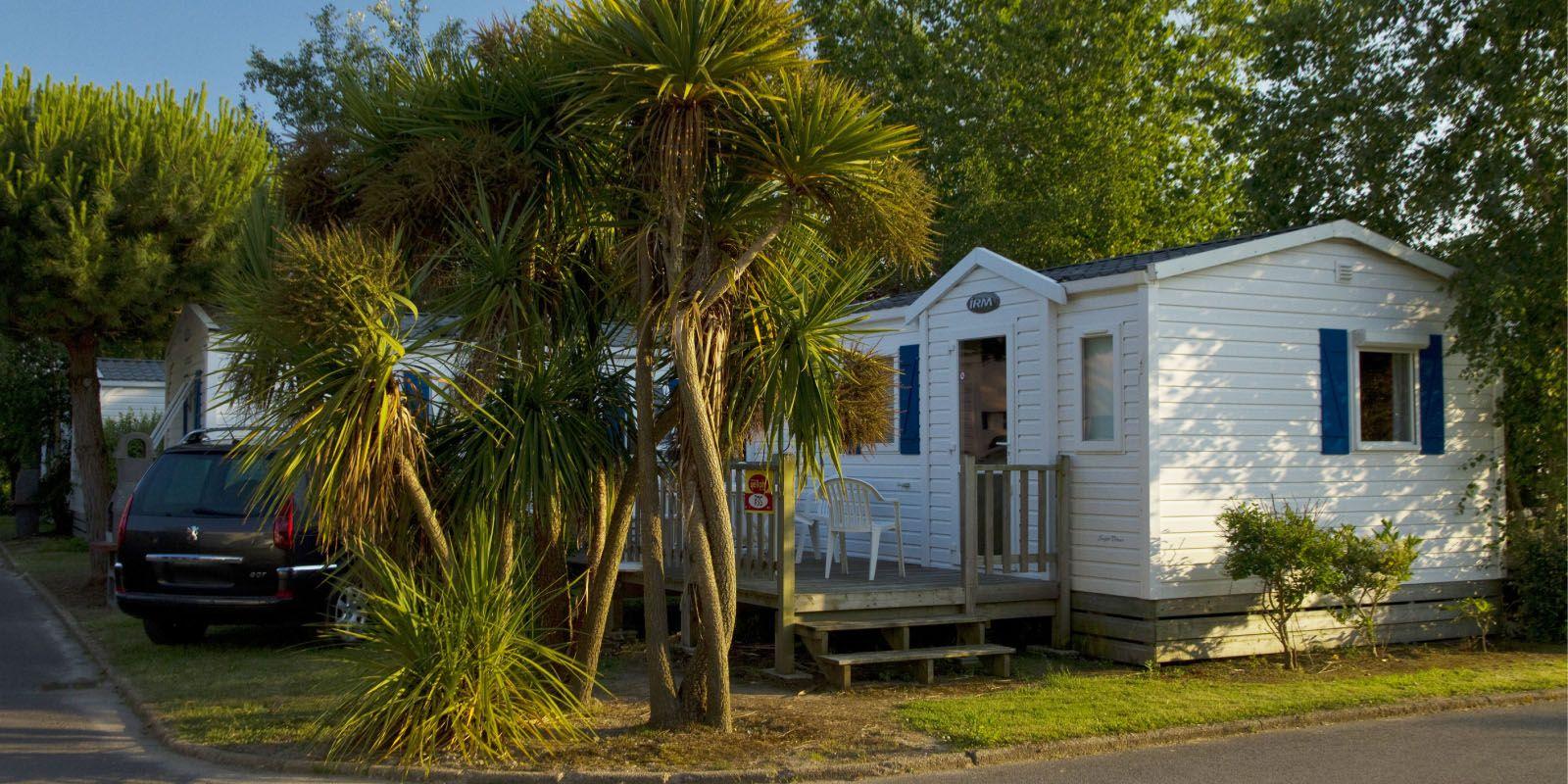 Lodge 4 personnes - 24 m² - emplacement