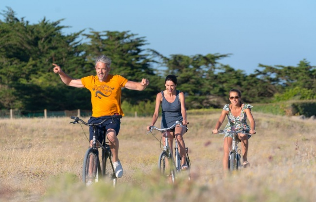 camping plage equipements sur place vélo