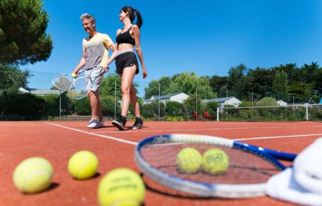 camping plage equipements sur place tennis