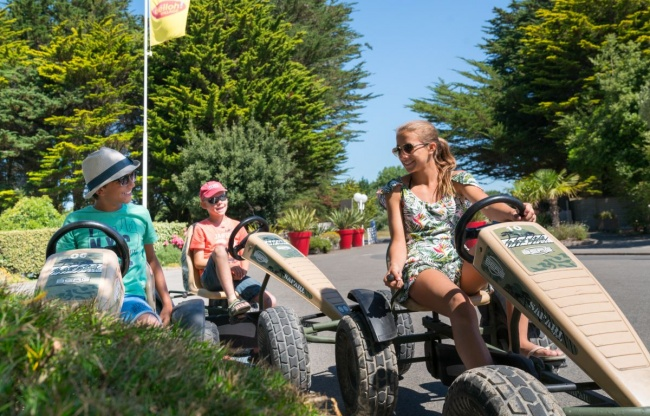 camping plage equipements sur place kart