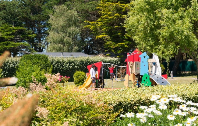 camping plage equipements sur place mobilier d'enfant