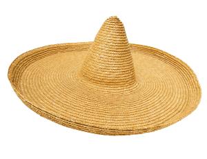Les services du camping - chapeau mexicain
