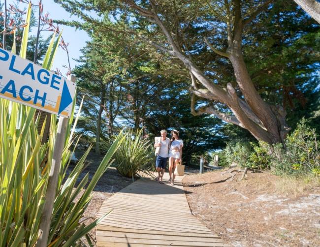 La plage en accès direct - promenade