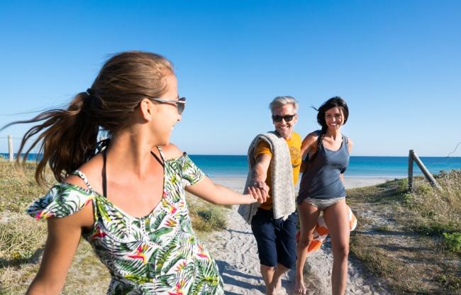 La plage en accès direct - les copains