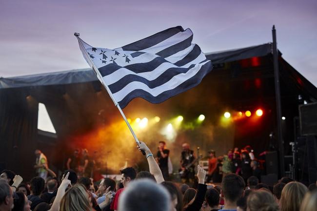 camping Finistère-sud drapeau breton