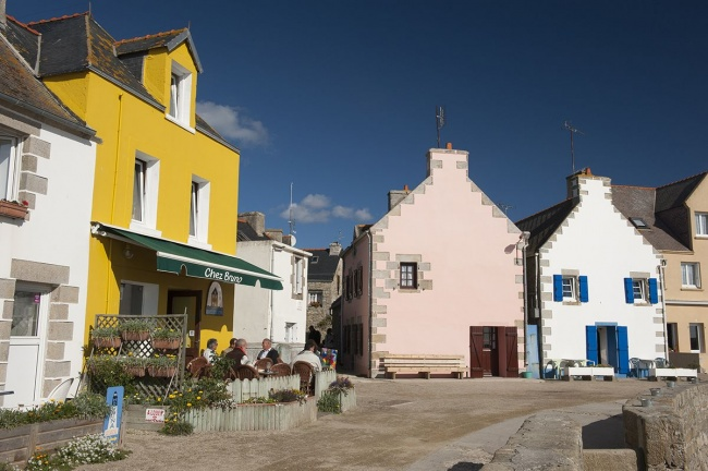 Tourisme Ile de Sein - architecture bretonne
