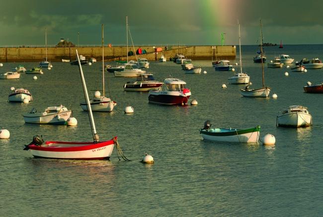 Penmarc'h en Bretagne, le port de plaisance