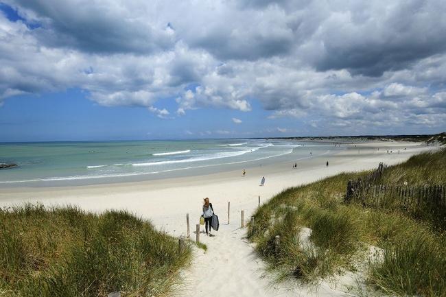 Camping et randonnées en Finistère Sud - un littoral magnifique