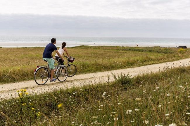 Randonnées en Finistère Sud - découverte du littoral à vélo