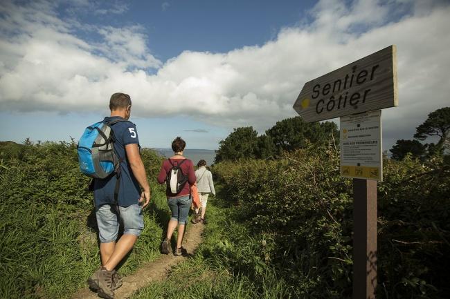 Randonnées bretagne - sentier côtier
