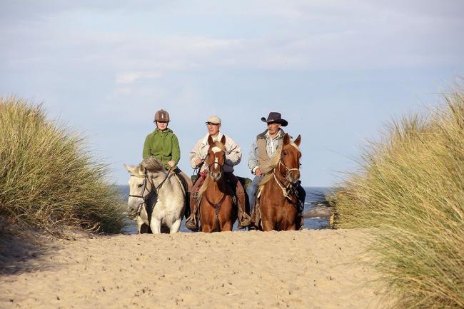 tourisme Finistère-sud plage à cheval
