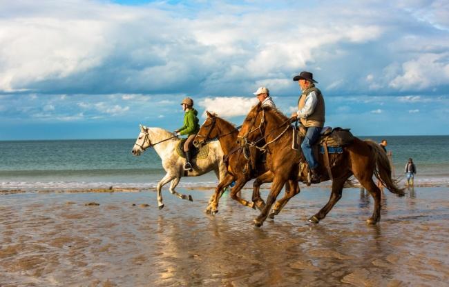 camping plage sport équitation