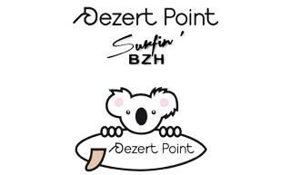 Logo Dezert Point - école de surf