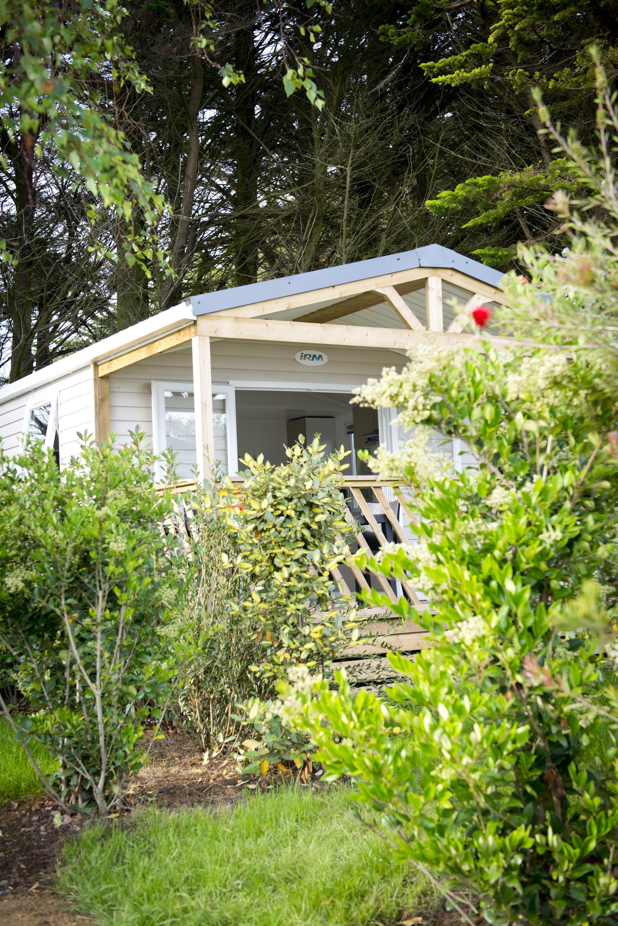 Cottage 4 personnes jardin entrée