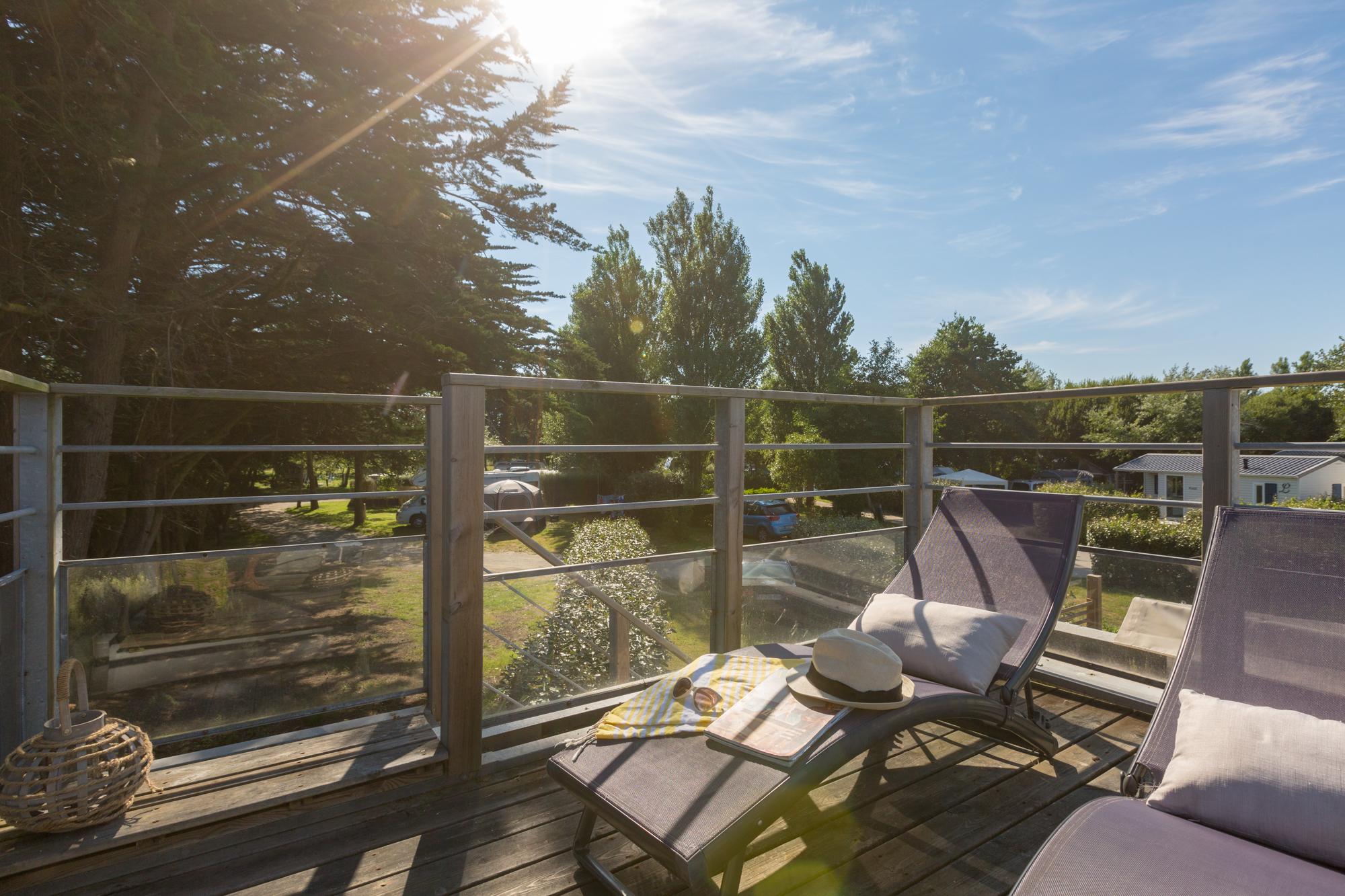 Lodge panoramique premium 4 personnes - un coin de paradis