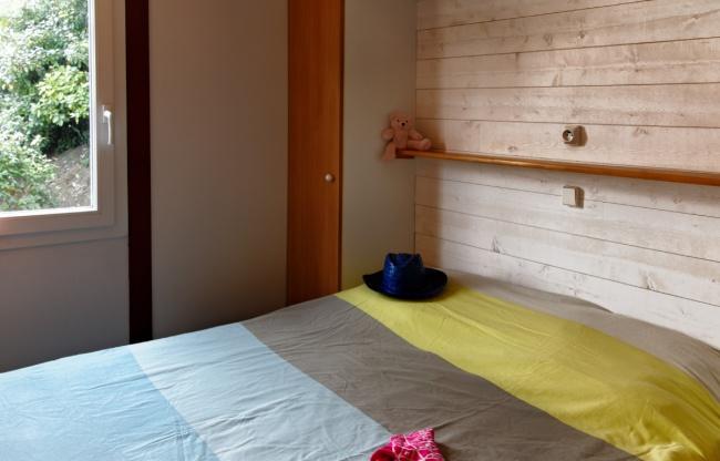 Cottage 5 personnes 28 m² - chambre