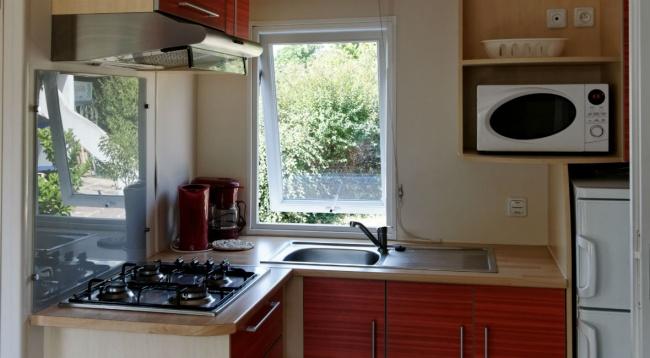 Cottage 5 personnes 28 m² - cuisine
