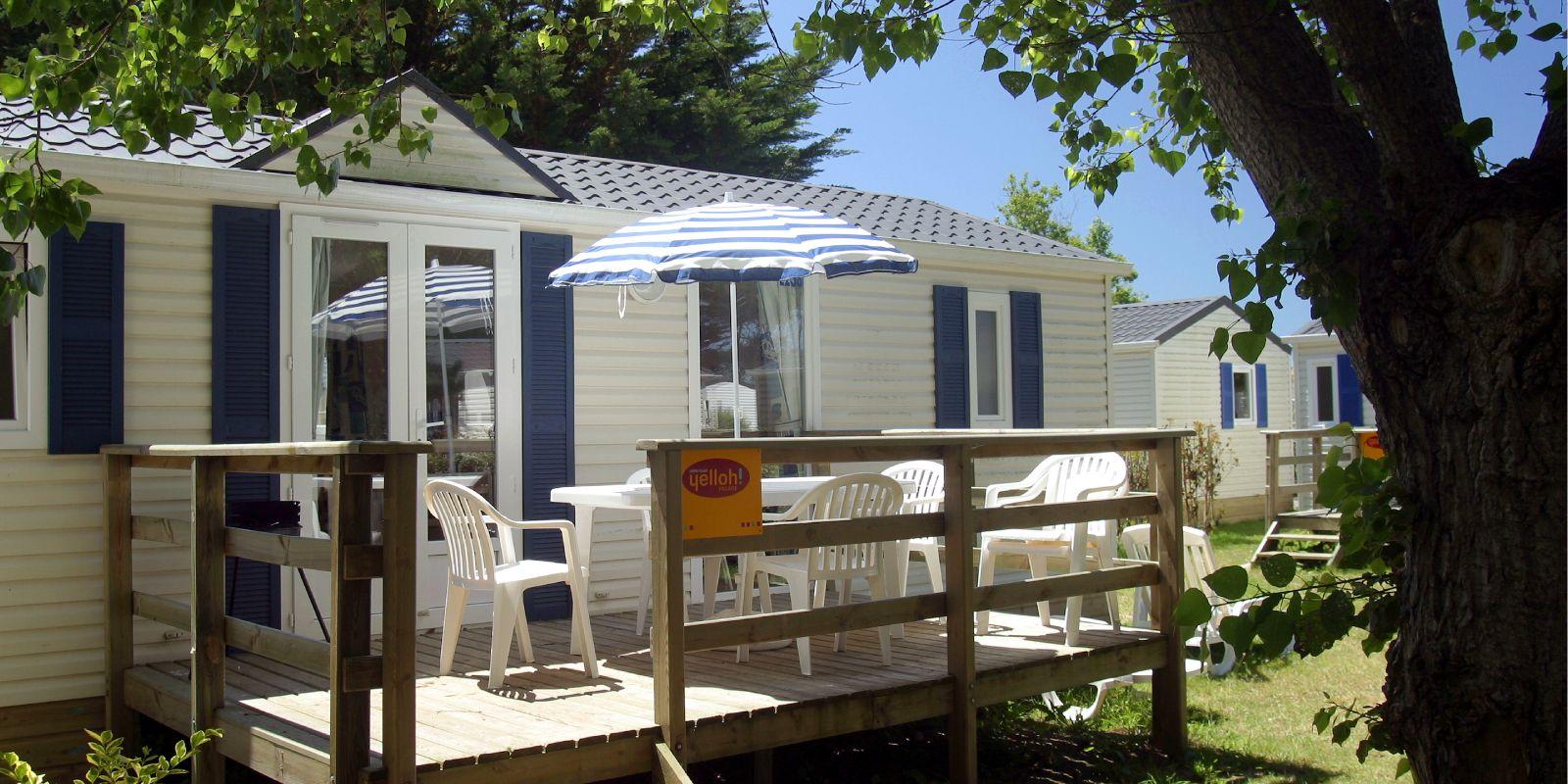 Cottage 6 personnes 35 m² - balcon