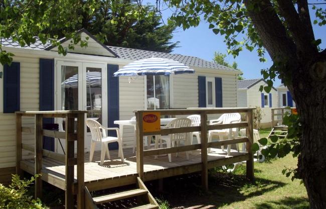 Cottage 6 personnes 35 m² - terrasse