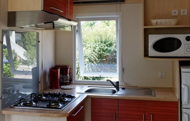 lodge 4 personnes 28m² - cuisine équipée