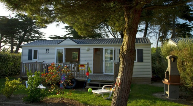 Cottage 6 personnes 2 SDB facade et pin