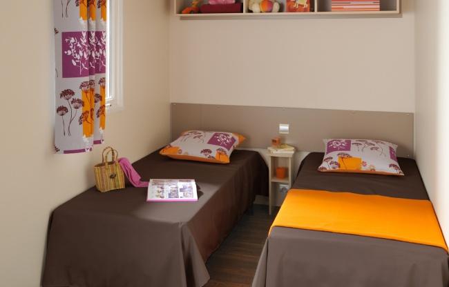 Cottage Dunes 5-6 personnes - chambre 2 lits