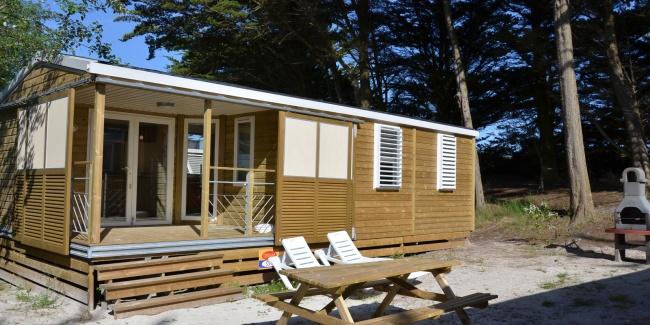 Cottage Dunes 5-6 personnes - terrasse et extérieur