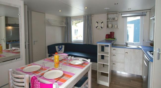 Cottage 6 personnes 32 m² - séjour
