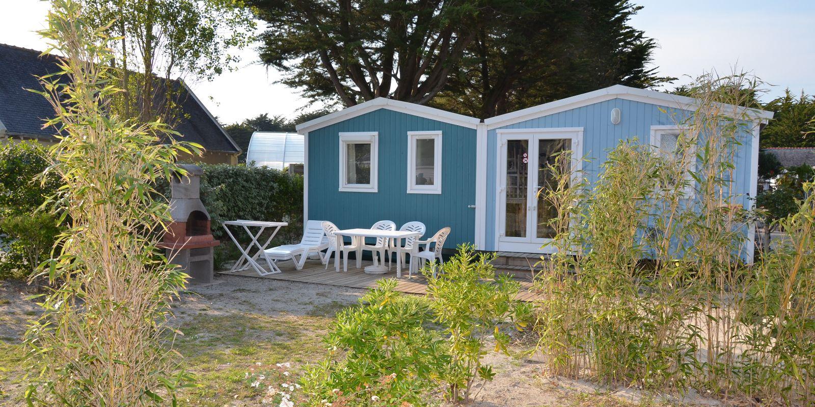 Cottage 6 personnes 32 m² - façade