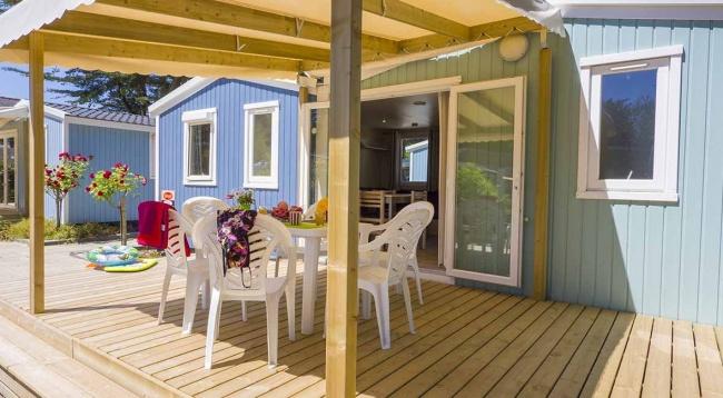 Cottage 6 personnes 32 m² - terrasse