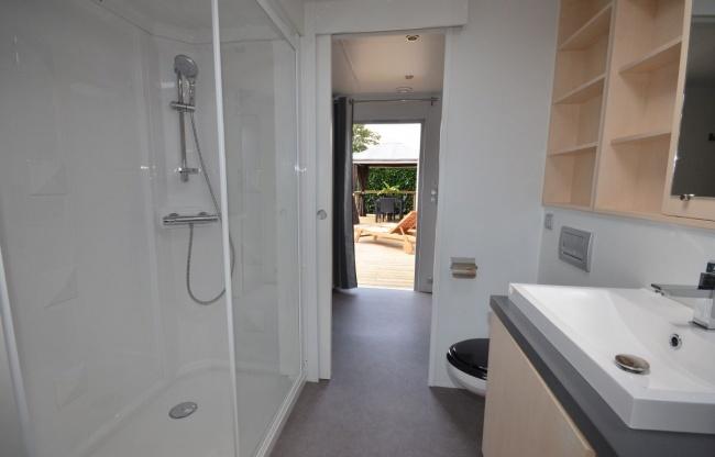 Cottage Keywest 6 personnes deux lodges - salle de bain