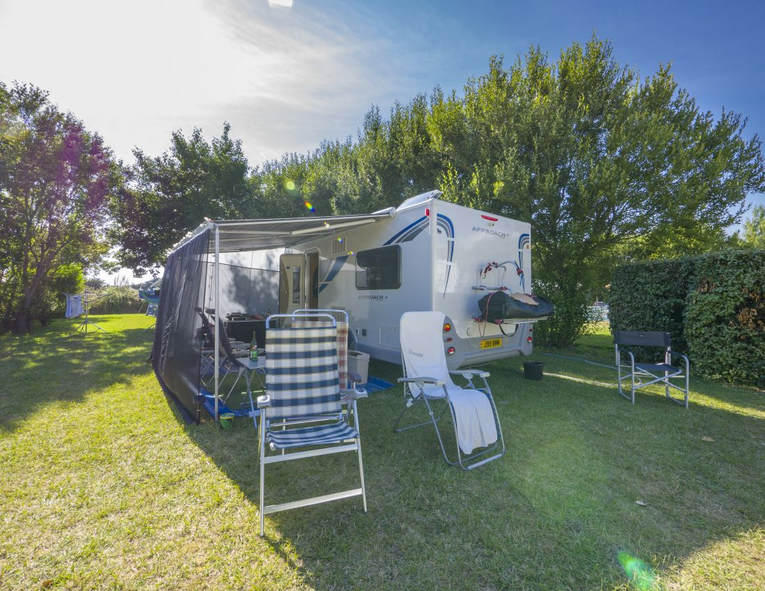 Les Campings cars - emplacement