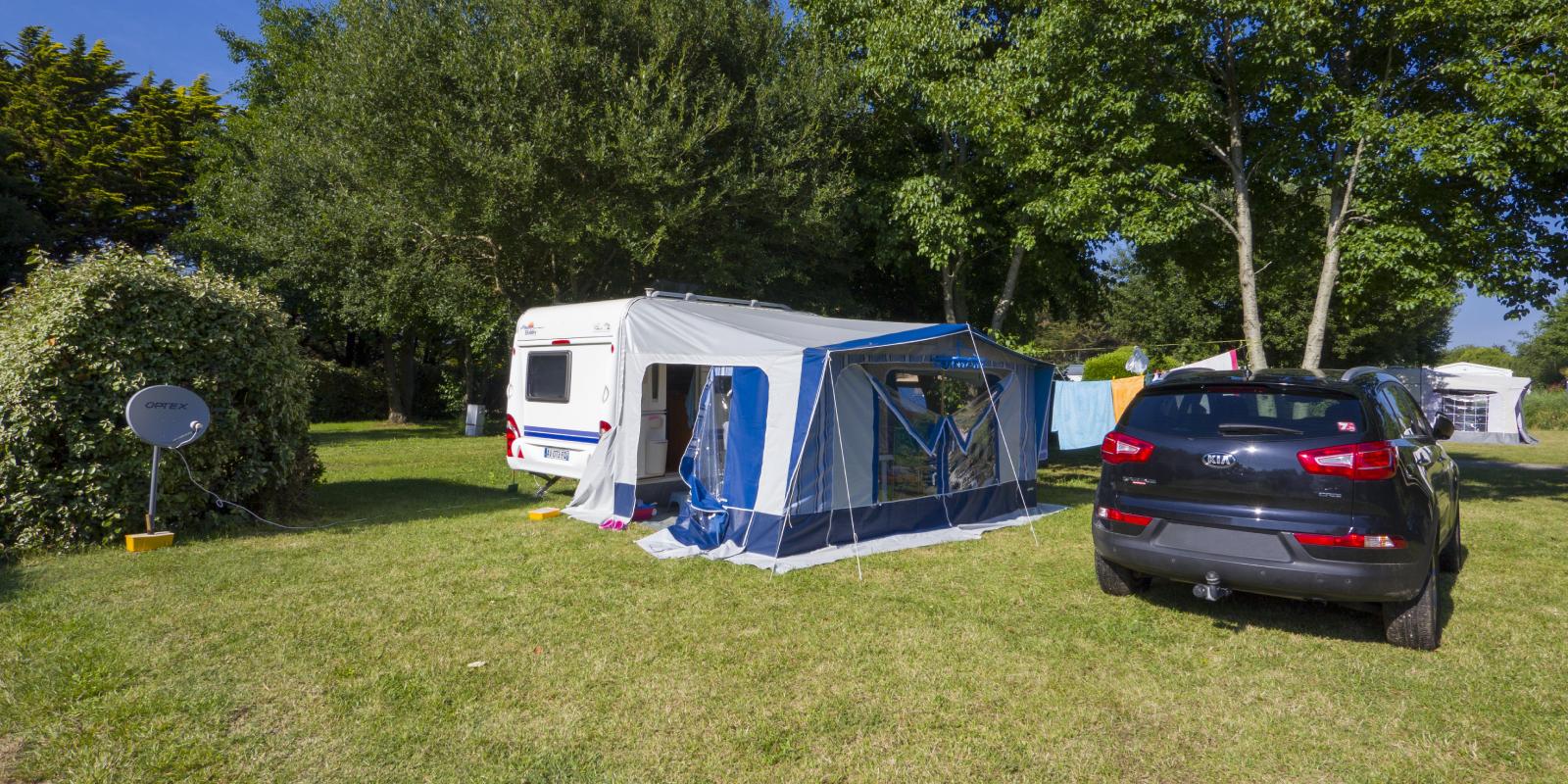 emplacement et conseils en équipement - caravane et voiture