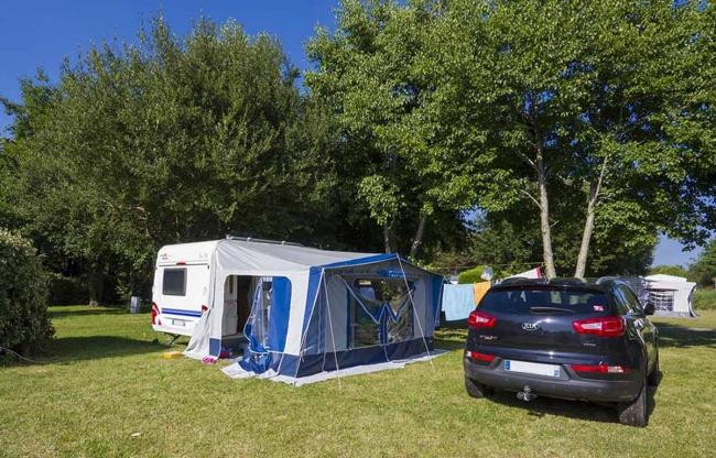 Emplacement Camping de la Plage - caravane