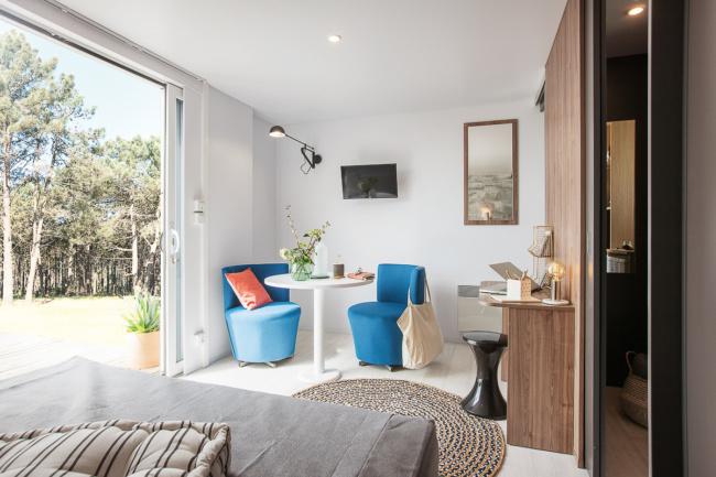 Cottage Premium 2 personnes salon