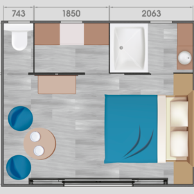 Plan Cottage 2p Premium
