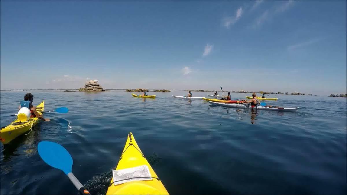 où faire du kayak en Finistère sud