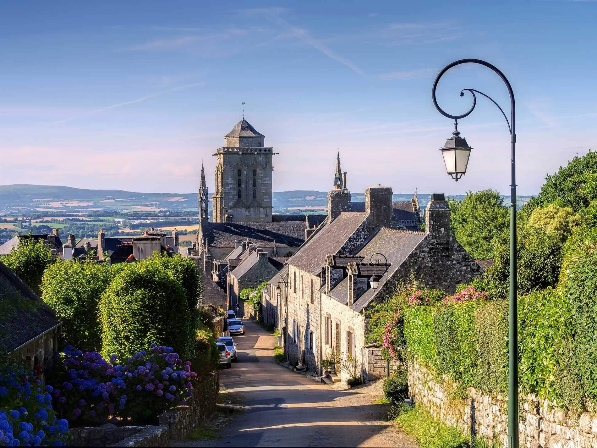 Locronan cité médiévale en Finistère