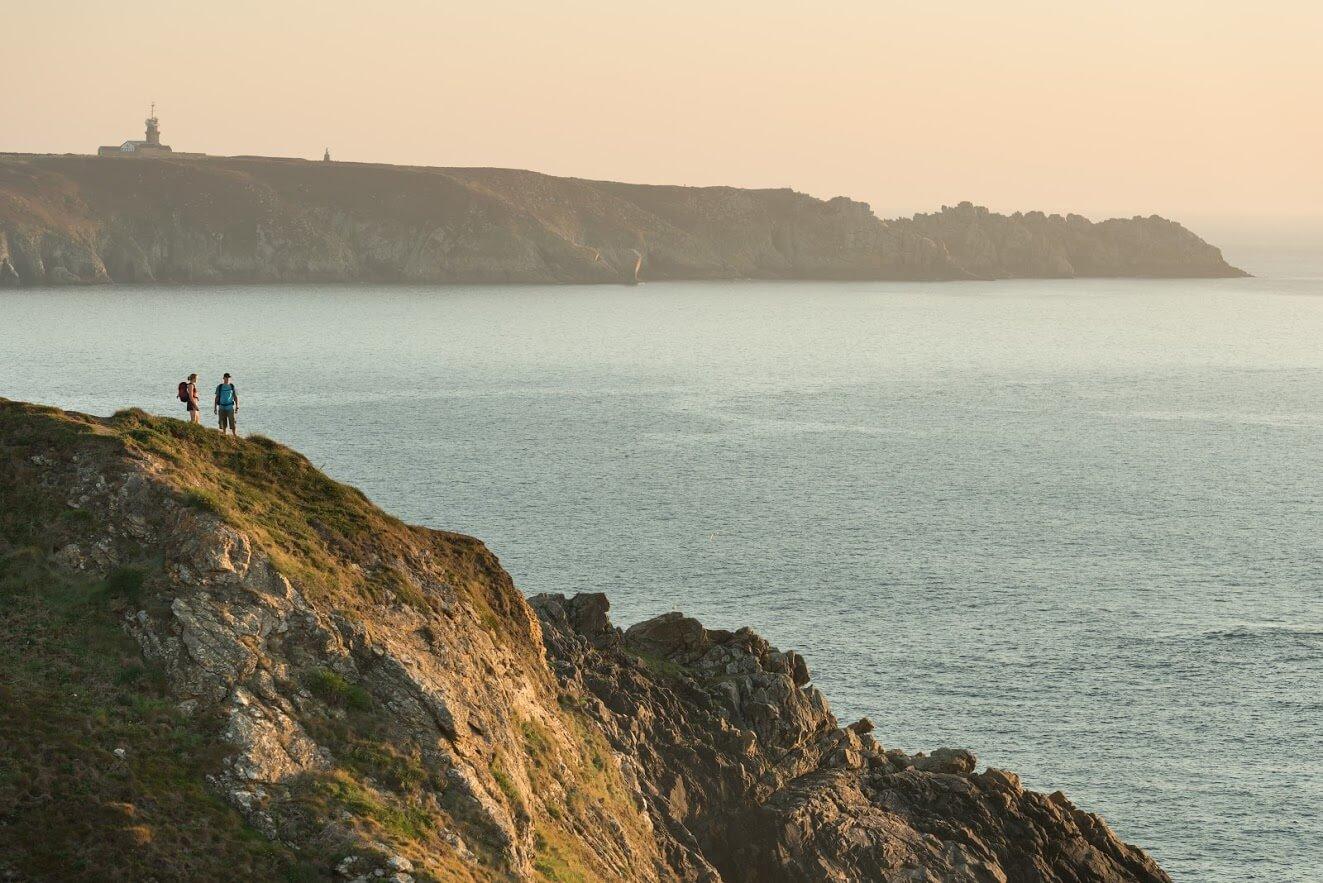 la Pointe du Van dans le Finistère